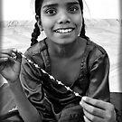 Jewellery Seller, Jaipur India 2008 by Tash  Menon