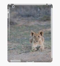 Playful lion clubs iPad Case/Skin