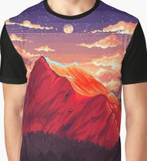 Pixel landscape Graphic T-Shirt