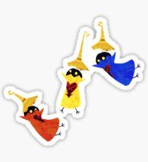 Silly Symphony Heartless Sticker