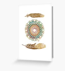 Bohemian Luxe Greeting Card