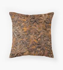 Star Anise Throw Pillow