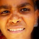 Puzzled Egyptian Boy, Aswan Egypt, 2007 by Tash  Menon