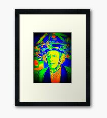 Dr. Emmett Brown (Doc Brown) - Back To The Future 2 - Scientific Insanity  Framed Print