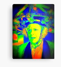 Dr. Emmett Brown (Doc Brown) - Back To The Future 2 - Scientific Insanity  Metal Print