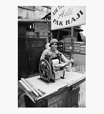 Mr Haji's juice machine Photographic Print