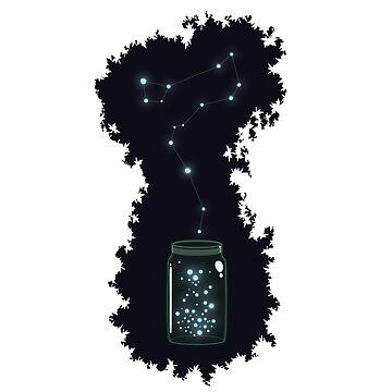 Jar of Stars by nephero
