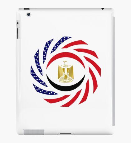 Egyptian American Multinational Patriot Flag Series iPad Case/Skin