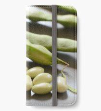 Green Shell Beans iPhone Wallet/Case/Skin