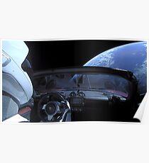 SpaceX Starman - NICHT PANIK! Poster