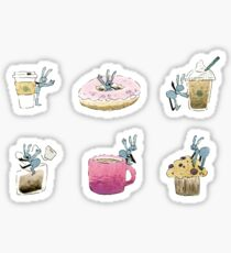 Ants Stickers - Watercolor Food Edition Sticker