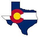 Texas and Colorado Love! by Sun Dog Montana