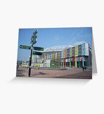 ajax stadium area Greeting Card