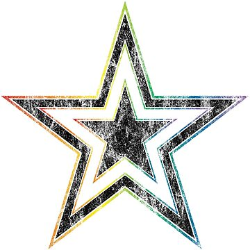 rainbow star by chromatosis