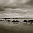 Moeraki Boulders.  by shrimpies4life