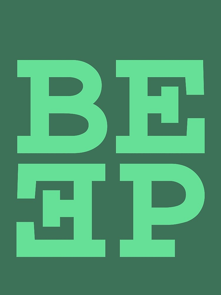 Beep (hanger logo) by jacknjellify