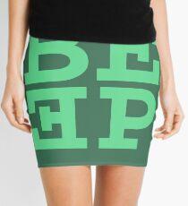 Beep (hanger logo) Mini Skirt