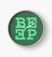 Beep (hanger logo) Clock