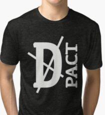 Death P.A.C.T. (hanger logo) Tri-blend T-Shirt