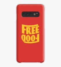 Free Food (hanger logo) Case/Skin for Samsung Galaxy