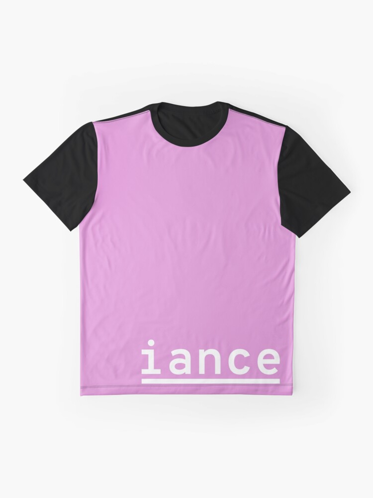 Alternate view of iance (hanger logo) Graphic T-Shirt