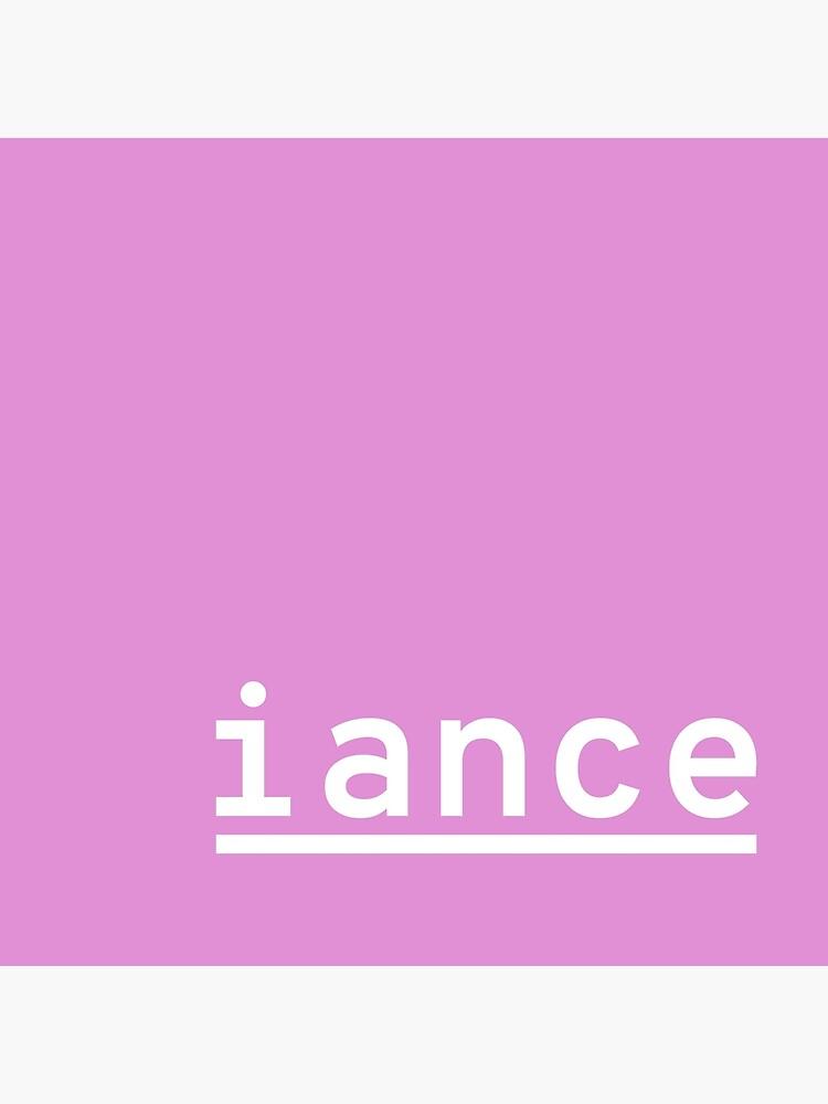iance (hanger logo) by jacknjellify