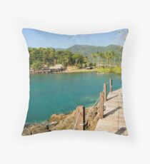 Ko Chang Island in Thailand Throw Pillow