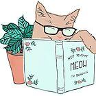 Not Right Meow I'm Reading by flourishandflow