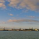 Townsville Port - Sunrise by Paul Gilbert