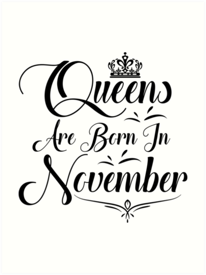 November Birthday Gifts For Ladies