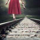 railway tracks by Joana Kruse