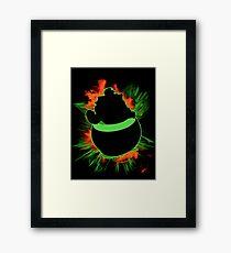 Super Smash Bros. Bowser Jr Silhouette Framed Print