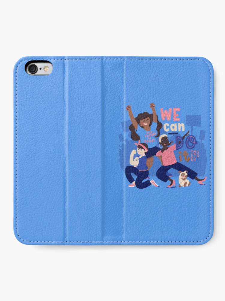 Alternate view of We Can Do It (Together) iPhone Wallet