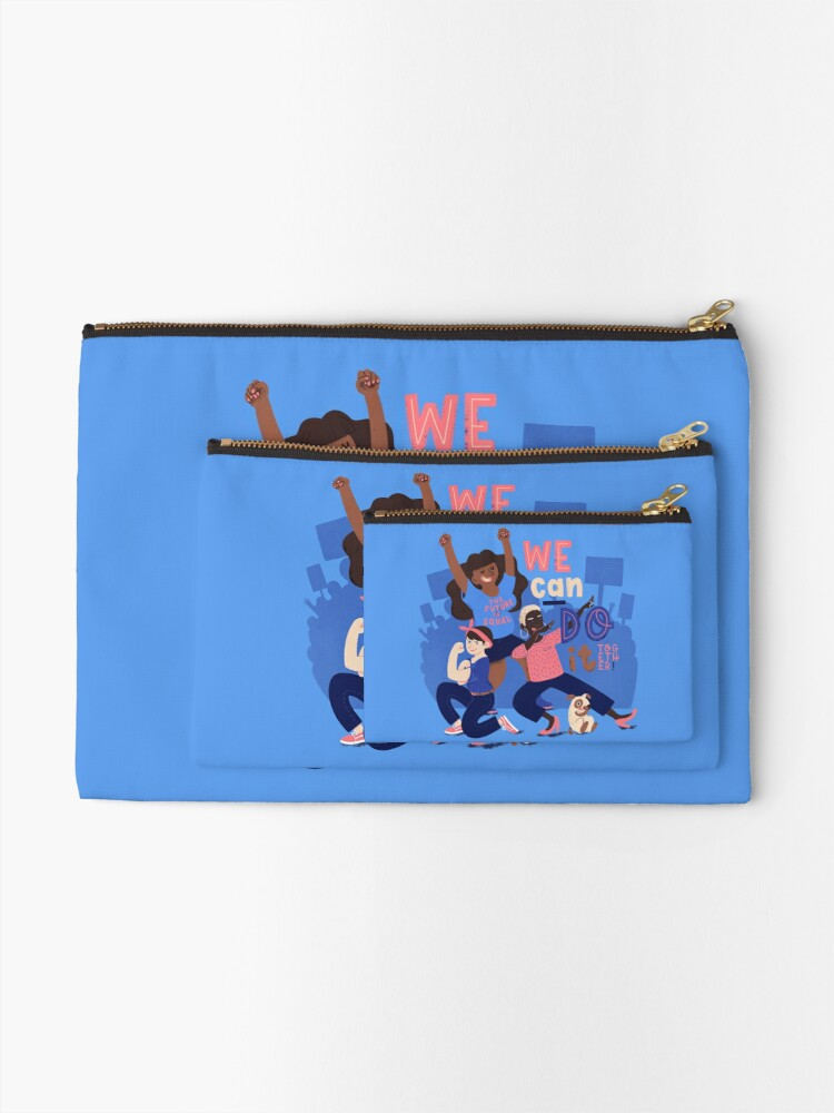Alternate view of We Can Do It (Together) Zipper Pouch