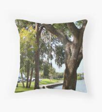 Tarpon Springs Florida Throw Pillow