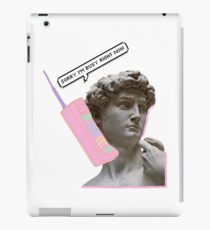 Unique Renaissance Design iPad Case/Skin