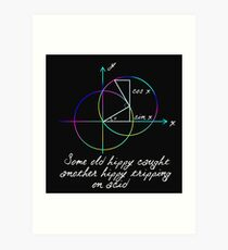 Trigonometry Art Print