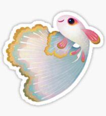 Flower guppy Sticker