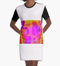 Gifts Of Others' Work Are Blessings In My Life Graphic T-Shirt Dress