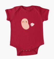 Gebackene Bohnen furzen Baby Body Kurzarm