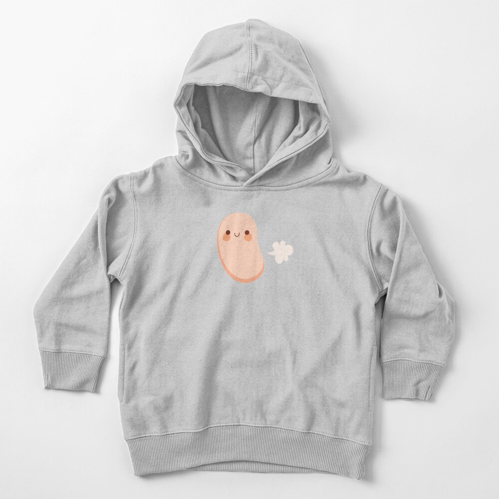 Baked beans farting Toddler Pullover Hoodie
