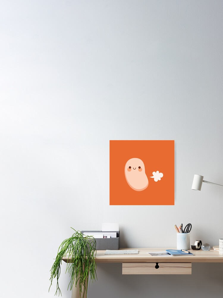 Alternate view of Baked beans farting Poster
