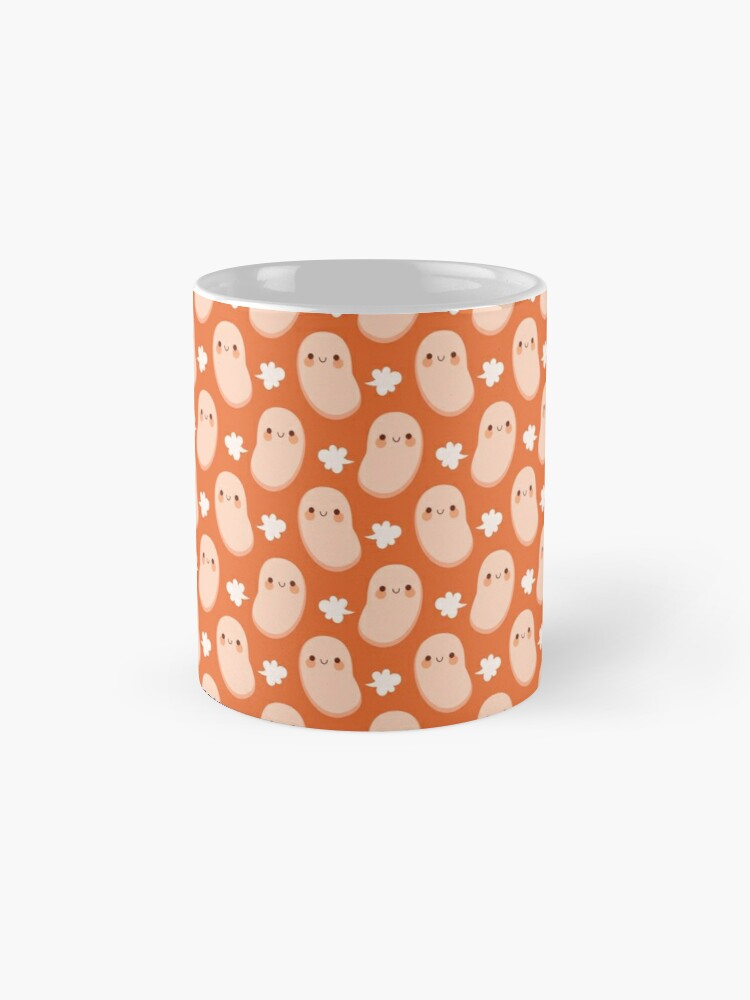 Alternate view of Baked beans farting Mug