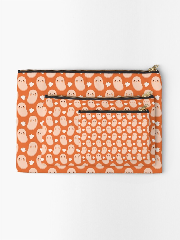 Alternate view of Baked beans farting Zipper Pouch