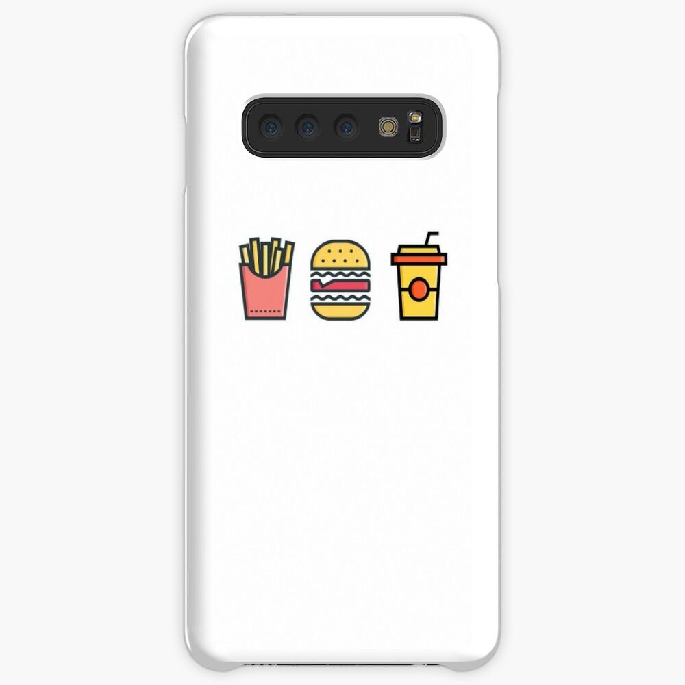 Fast Food Hülle & Klebefolie für Samsung Galaxy