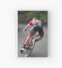 Fast bicycle rider Hardcover Journal