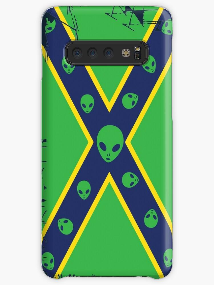 'Confederate Flag Alien ' Case/Skin for Samsung Galaxy by quark