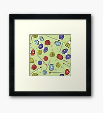 For knitters! Framed Print
