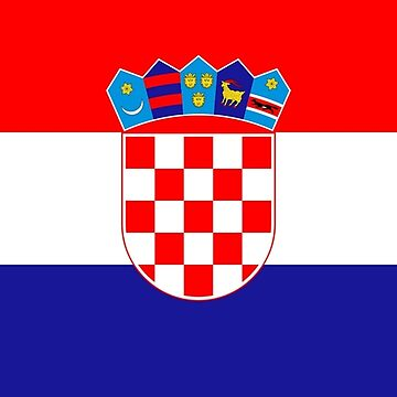 Croatian flag by stuwdamdorp