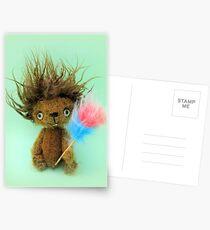 Diddy Doddy, Ken Dodd teddy bear Postcards